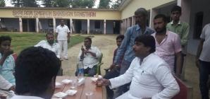 गोरखपुर – फ़ैज़ाबाद  स्नातक  निर्वाचन क्षेत्र -बलरामपुर चुनावी दौरे